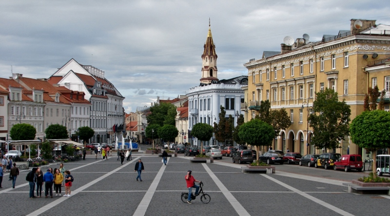 Vilnius_Rathausplatz